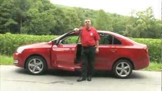 New / Nov? ?koda Rapid 2012 - European test / review - Auto.cz