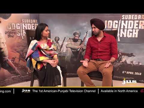 Exclusive Interview | Gippy Grewal | Subedar Joginder Singh | Jus Punjabi