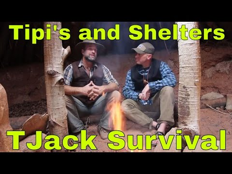 Shelters and Tipi's with Matt Graham