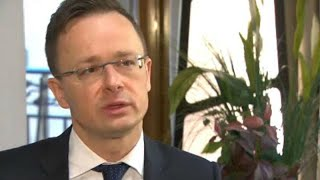 Watch: 'Hungarians are not migrants,' says foreign minister