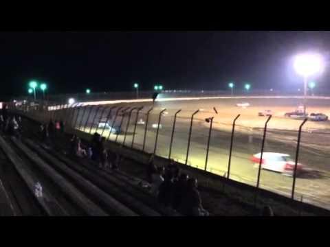 Clay county speedway hornet speedway 8/16/14 part 1