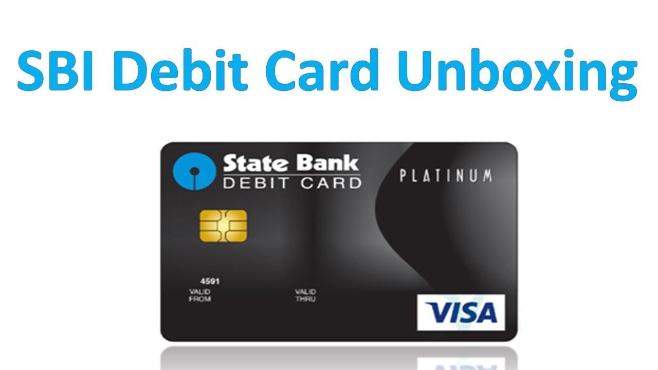 how to apply sbi visa platinum debit card