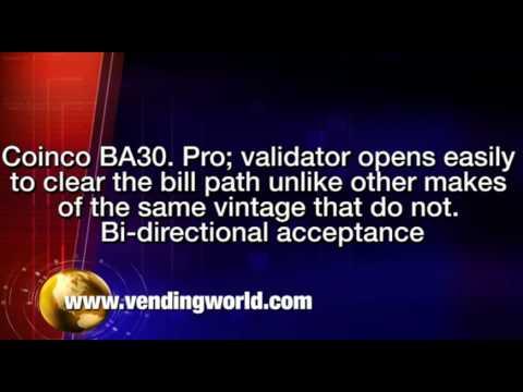 Coinco Mag52R//32R Bill Validator $1 Bills