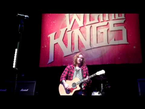 We The Kings - Akron Ohio 10/2/2013 - Song dedicated to Charles Trippy