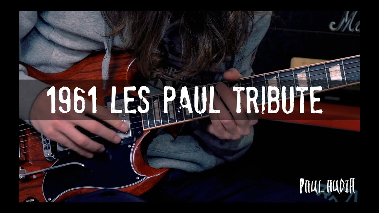 1961 Les Paul Tribute Sg Gibson Review By Audia Youtube P90 Pickups Original Electronics And Wiring Harness