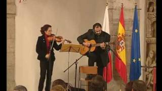 Tango en el Parlamento de Cantabria - P. Mezzelani con L. Bahillo