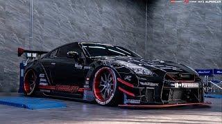 LB-Works Nissan GT-R R35 X Fi EXHAUST