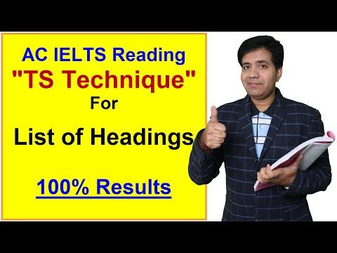 academic-ielts-reading-  -ts-technique-for-list-of-headings-  -asad-yaqub
