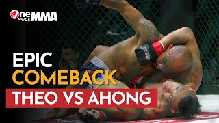 Darah Ngucur! Theodorus Ginting vs Rudy Ahong Gunawan Laga Paling Panas | One Pride MMA