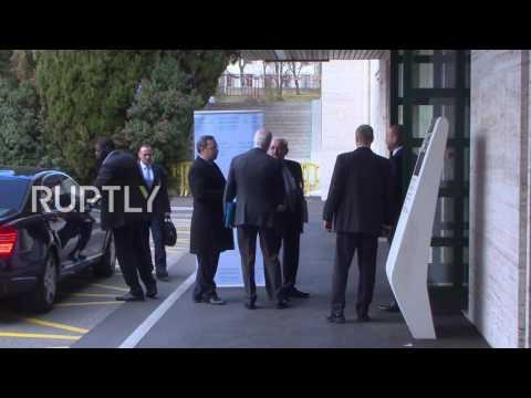 Switzerland: De Mistura welcomes Jaafari for further Syria peace talks