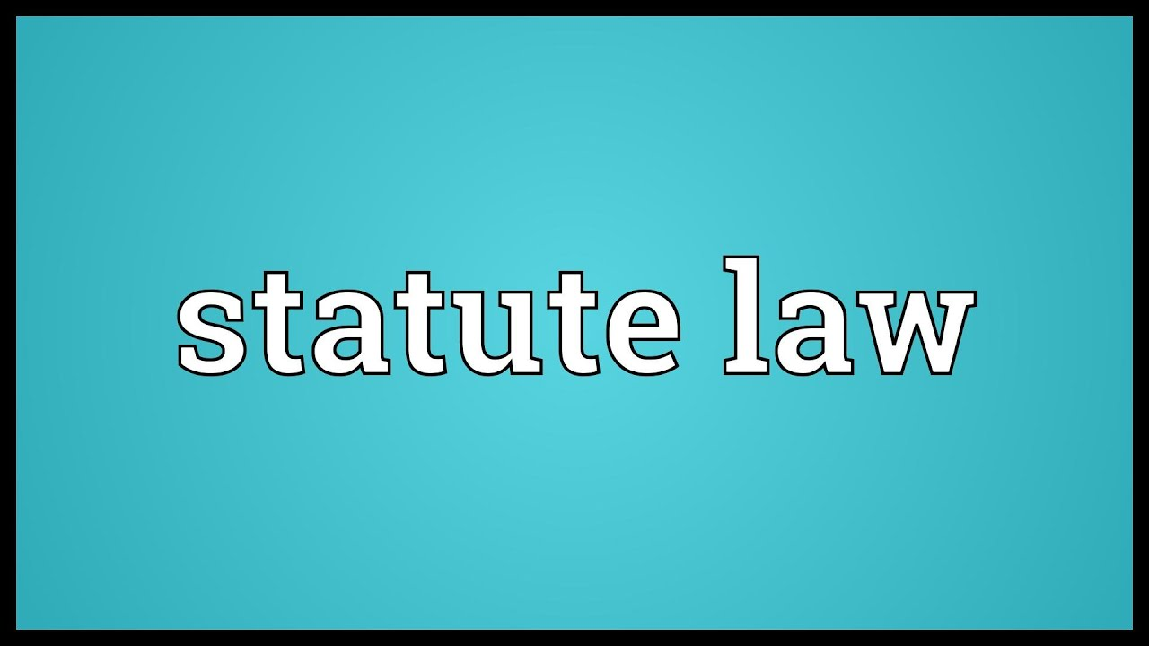 law interpretation Heinonline -- 3 u kan l rev 2 1954-1955 2 kansas law review [vol 3 most rules of statutory interpretation can be classified in one of two ways: those concerned.