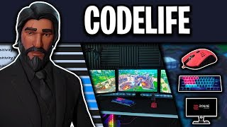 Codelife Fortnite Settings, Keybinds and Setup (100K Special)