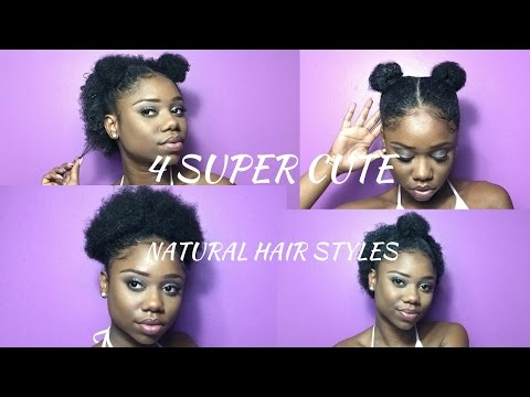 Super Cute Hairstyles For Short Natural Hair