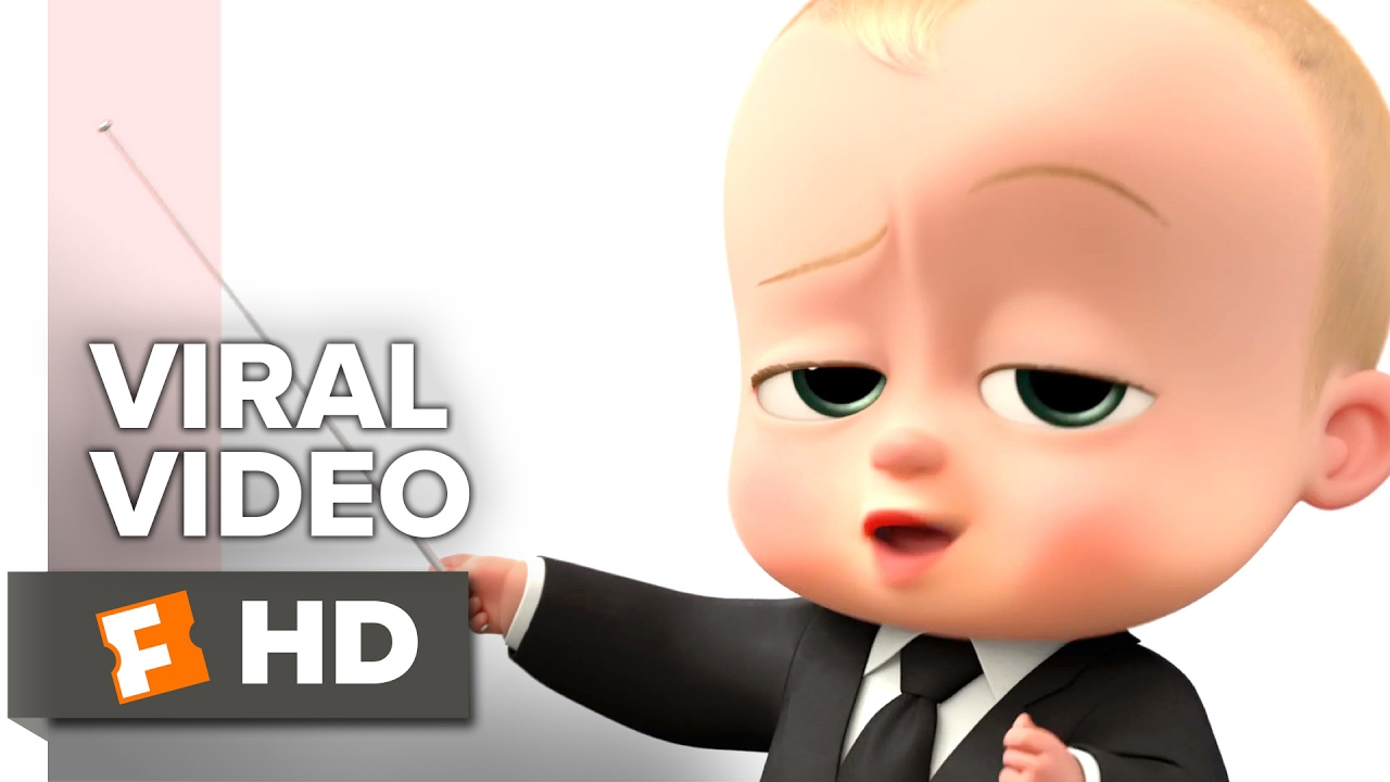 The Boss Baby Viral Video Boss Baby Talks Customers 2017 Alec Baldwin Movie