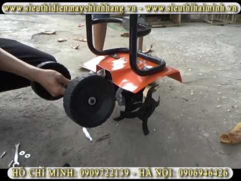 Hướng dẫn sử dụng máy xới đất mini XDMN-520