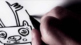 How to Draw A Cartoon Rudolph by Garbi KW (Christmas Special)