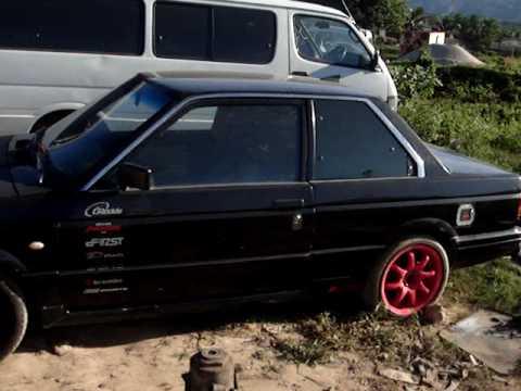 nissan b12 turbo sentra - YouTube