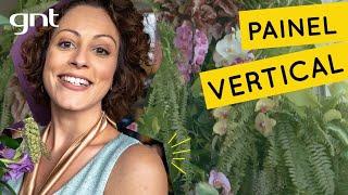 Painel Vertical com Plantas sem Furar a Parede