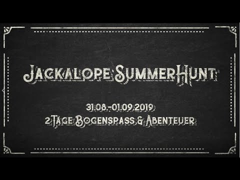 Jackalope Archery Summer Hunt - be part of it!