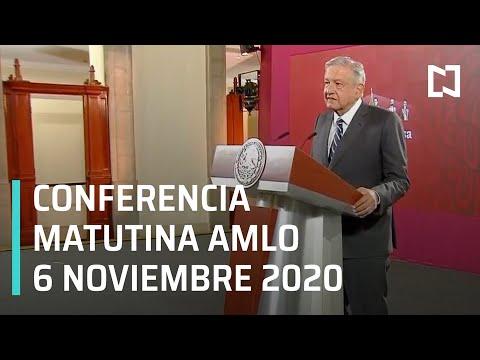 Conferencia matutina AMLO / 6 de noviembre 2020