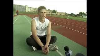 Александр Елисеев - чемпион первенства России в беге на 100 метров.