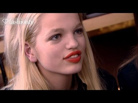 First Face - #2 Model Daphne Groeneveld - Fall 2011 First Face Countdown | FashionTV - FTV.com