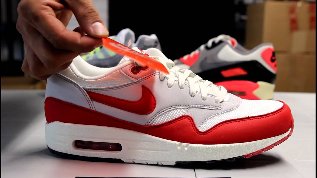 Air Max 1 Og Cru Aile Rouge