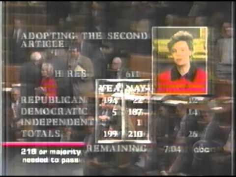 Bill Clinton impeachment coverage