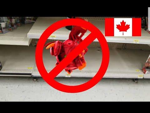 Bakugan Battle Planet Hunting Fail @Walmart Canada & Toys R Us Jan 1-2