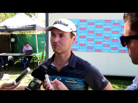 Matthew Griffin post Round 3 interview ISPS Handa Perth International