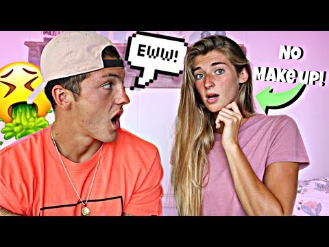 I Wore NO MAKEUP To See How My Boyfriend Would React... thumbnail