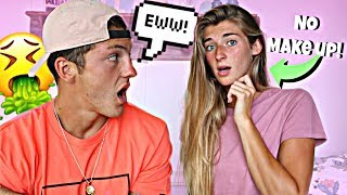 I Wore NO MAKEUP To See How My Boyfriend Would React...