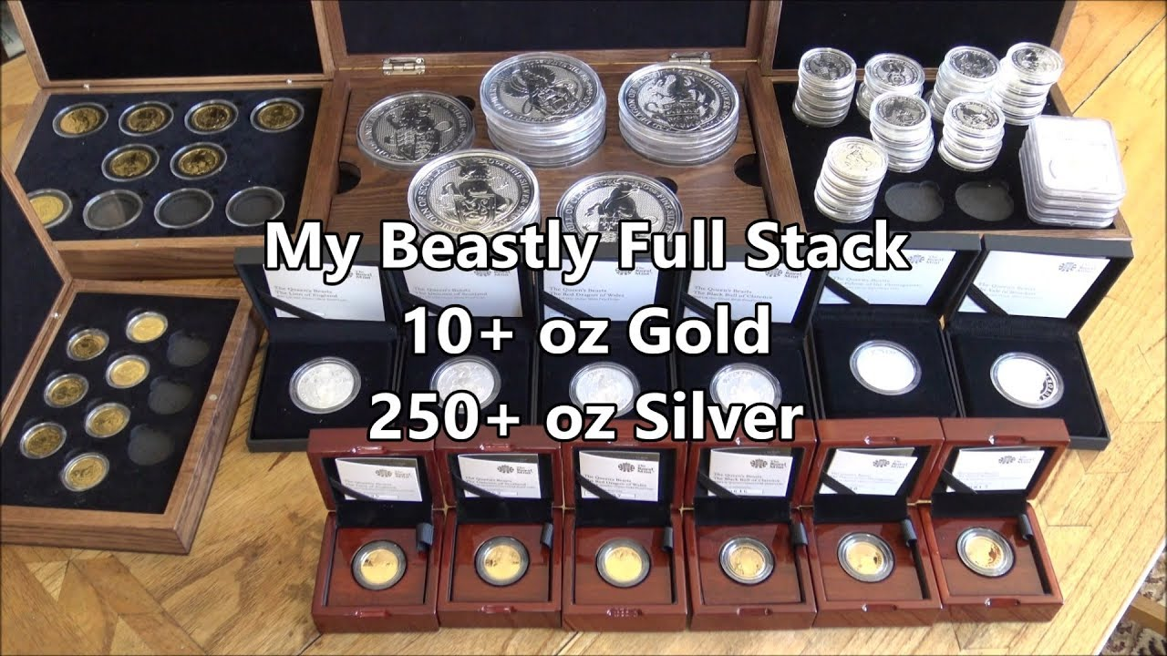 My Beastly Silver & Gold Full Stack! 7