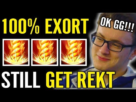 Miracle Invoker 1000% Exort Still Get REKT Dota 2 New Patch Invoke
