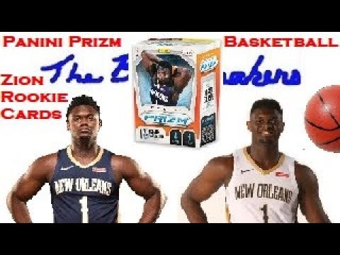 2019 2020 Nba Panini Prizm Basketball Zion Williamson Silver Prizm Orange Cracked Ice Rookie Hits