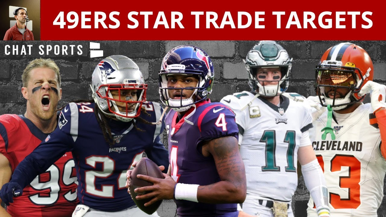 Download 49ers Trade Rumors: 5 Players The Niners Could Trade For Ft. Deshaun Watson, Odell Beckham & JJ Watt