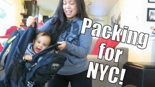 Packing for NYC!!! - February 13, 2015 -  ItsJudysLife Vlogs