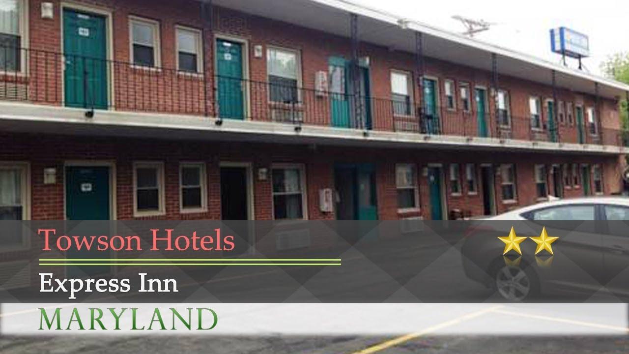 Express Inn Towson Hotels Maryland