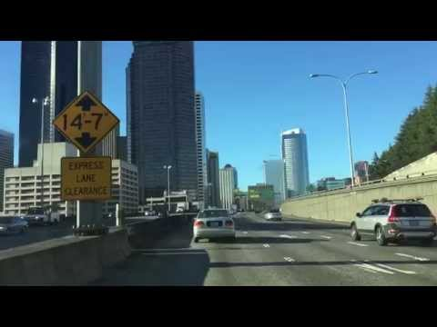USA PART 2-ROAD TRIP Seattle on the road I-5