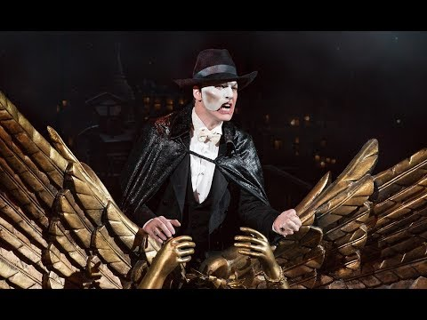 James Barbour Life Story Interview - Actor Phantom On Broadway 2017