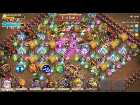 Castle Clash Expert 8 Dungeon Elite 8 Of 10 100% Victory 3 Flames