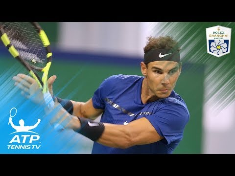 Nadal, Federer cruise; del Potro beats Zverev | Shanghai Rolex Masters 2017 Highlights Day 4