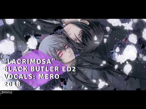 "Black Butler ED2 - ""Lacrimosa"" English Cover【Mero】"
