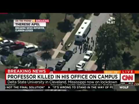 UPDATES Professor killed in his office on campus Delta State University   Cleveland Mississippi
