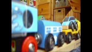 Brio Eisenbahn Spaß (ash 2 Jahre) - Wooden Train Fun - Enjoy! Kanal Für Kinder Kinderkanal
