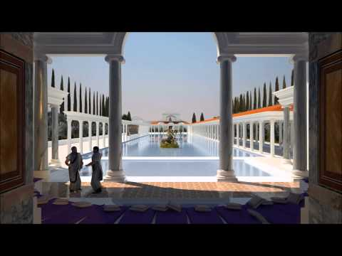 The Digital Hadrian's Villa Project: Animated Segments, March 2014