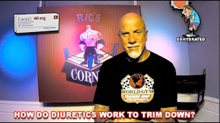 Taking Diuretics In Bodybuilding for cuts and water loss