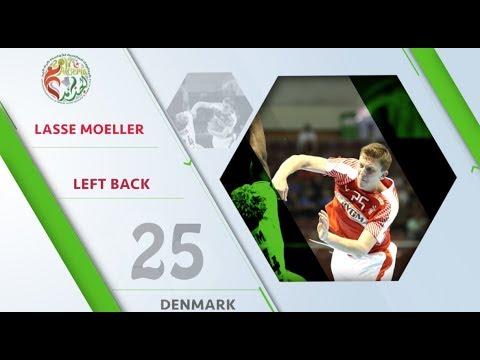 Lasse Moeller (DEN) - All-star left back | IHFtv - Algeria 2017 Men's Junior WCh
