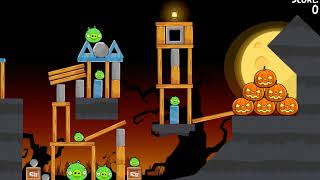 Angry Birds Seasons: Trick or Treat: Lvl 1-1 to 1-14