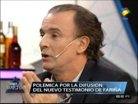 La aclaración de Feinmann a Claudio Villarruel
